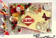 Albumy fotograficzne / Inspiracje z użyciem produktów marki Papelia.