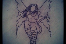 Inked up - designs  / Tattoo designs that I want, like and have :)