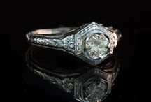 Vintage Engagement Rings / Beautiful Vintage Engagement Rings- Timeless Classics