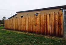 Staggered Height Pickets / Custom installed by Titan Fence & Supply Company