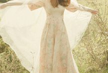 70's wedding dress