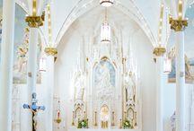 Wedding church venue style