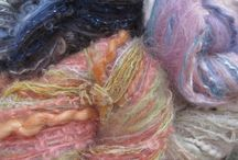 Art Yarns Thick 'n Thin / knitting yarn in mohair and wool textured and colourful