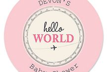 Precious Cargo Girl Baby Shower / Precious Cargo Girl Baby Shower Theme / by Modern Baby Shower Ideas