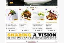 Cooking and Food Webdesign / by Maciej Chmielowski