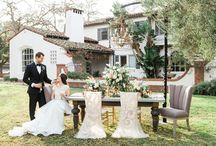 P/P wedding tables