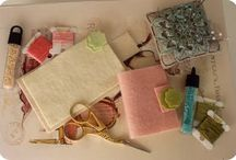 Fabric Needle Books, Spools and Pincusions / by Lorrie Thomas