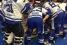 Team Québec ball hockey