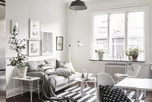 Дизайн комнаты квартира / Скандинавский стиль