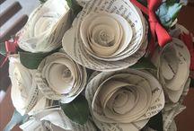Bouquet fiori di carta