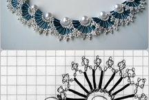 Šité šperky - R