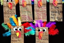Thanksgiving art for young kids