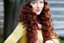 вязаное шапки