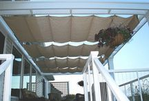 Shadecloth porch