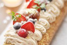 brazo de reina o roll cake