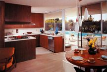 Mid Century Modern Kitchens / A selection of mid-century modern kitchens we love by www.midcenturyhome.com / by Mid Century Home .