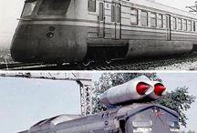 Train / Histoire ou actuel des trains électrique atomique à vapeur à voile...