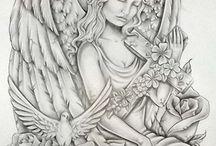 Tattoo ideas / Guardian angel