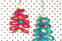 Christmas tree - crochet (Choinki na szydełku)