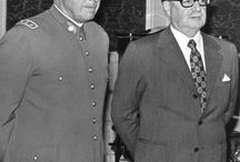 Augusto Pinochet / A collection of photos visualizing the controversial reign of Augusto Pinochet.