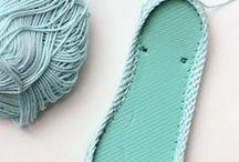 crochets tongs
