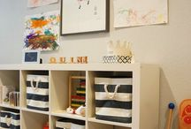 Loft & Playroom Ideas / by Jessica