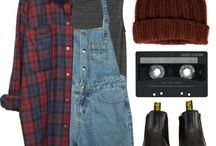 90's and grunge style