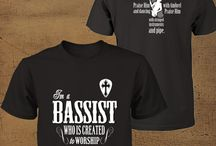 Christian T-Shirts for Bassist Created to Worship / Let this gear represent your passion for music and the way you're using your skills to worship God. Sharing your talent inspires many people and wearing this hoodie proudly will inspire them more. Reserve one now!  Click here to purchase >>> http://discipletee.com/P29-1 ** Tag, and Share With Your Friends! **