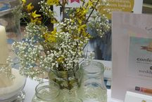 Gypsophilla Arrangements / Gypsophilla is always a popular plant used at wedding set ups. Our venue stylists have already used it in many ways so far this year! Take a look at some of the different ways of using this plant on your special day...