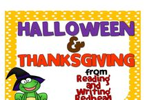 Halloween and Thanksgiving Activities for Elementary School / Halloween and Thanksgiving Activities for Elementary School
