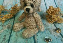 My crochet teddies
