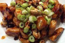 Kip met cashew