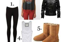 Different looks with your favourite cosy Australian Uggs / Get the look.