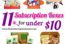 A Closer Look: Subscription Box Reviews / Join us as we take a closer look and see what's inside the box with our subscription box reviews. We also feature subscription box deals and savings! / by Find Subscription Boxes