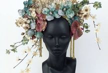 Flower and other headdresses