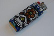 Beaded Lighter