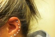 Ear piercings /  Piercings that I would get