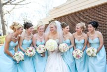 Blue #Bridesmaids Dresss