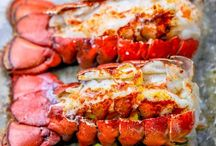 Lobster tails au four