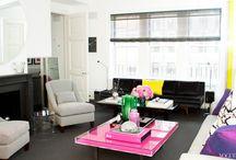 Colorful Living Rooms / Colorful living rooms  / by Cindy O'Brien Design