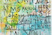 Inspirational quotes / Inspirations