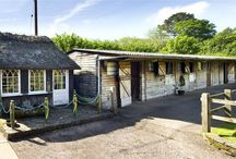 Devon property with equestrian facilities