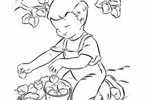 KIFESTŐK (gyerekek vegyes) - COLORINGS (children)