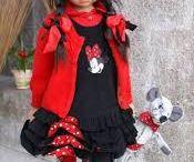 Angela Sutter - Arlene met rood hoedje en jasje