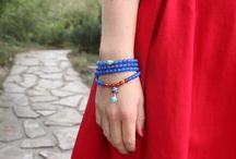 Orienttale / naturalna biżuteria. www.orienttale.pl, rudraksza, kokos, ethno, Bothi, lampwork, tagua, amazonit, chiński węzeł
