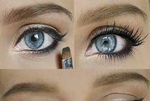 Make up. / :D