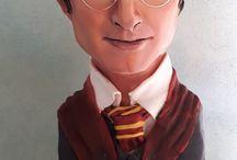 Harry Potter bust cake!