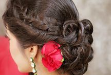Indian brides hairstyles