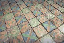 Realistic floor texture