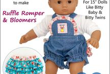 Baby Mine Patterns 15 Inch Doll Clothes